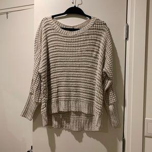 Express oversized crewneck sweater